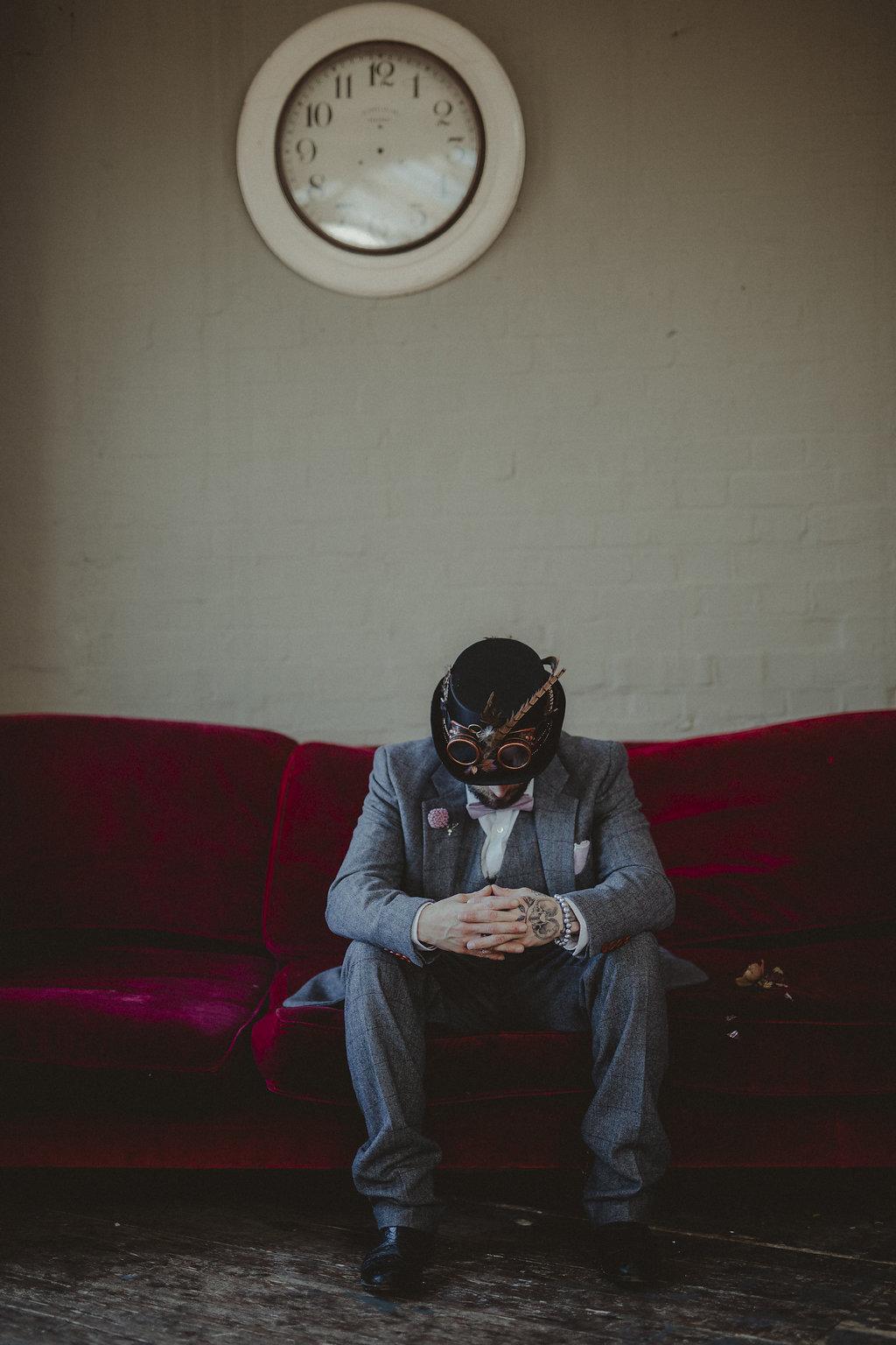 Studio Fotografico Bacci - Steampunk wedding - alternative wedding 48