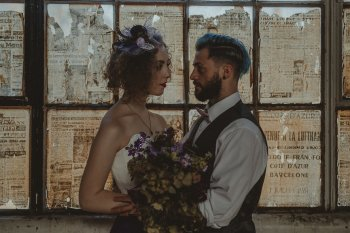 Studio Fotografico Bacci - Steampunk wedding - alternative wedding 5