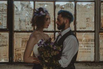Studio Fotografico Bacci - Steampunk wedding - alternative wedding 5