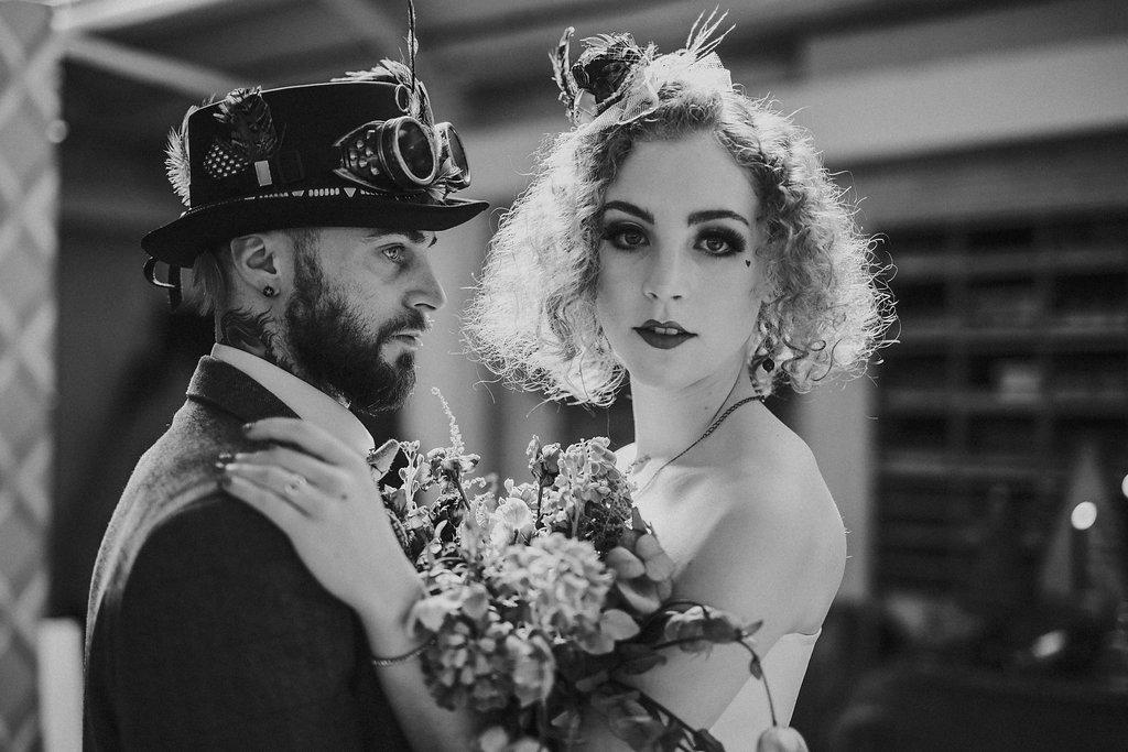 Studio Fotografico Bacci - Steampunk wedding - alternative wedding 60