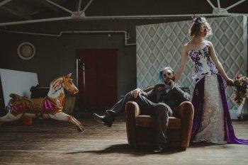 Studio Fotografico Bacci - Steampunk wedding - alternative wedding 63