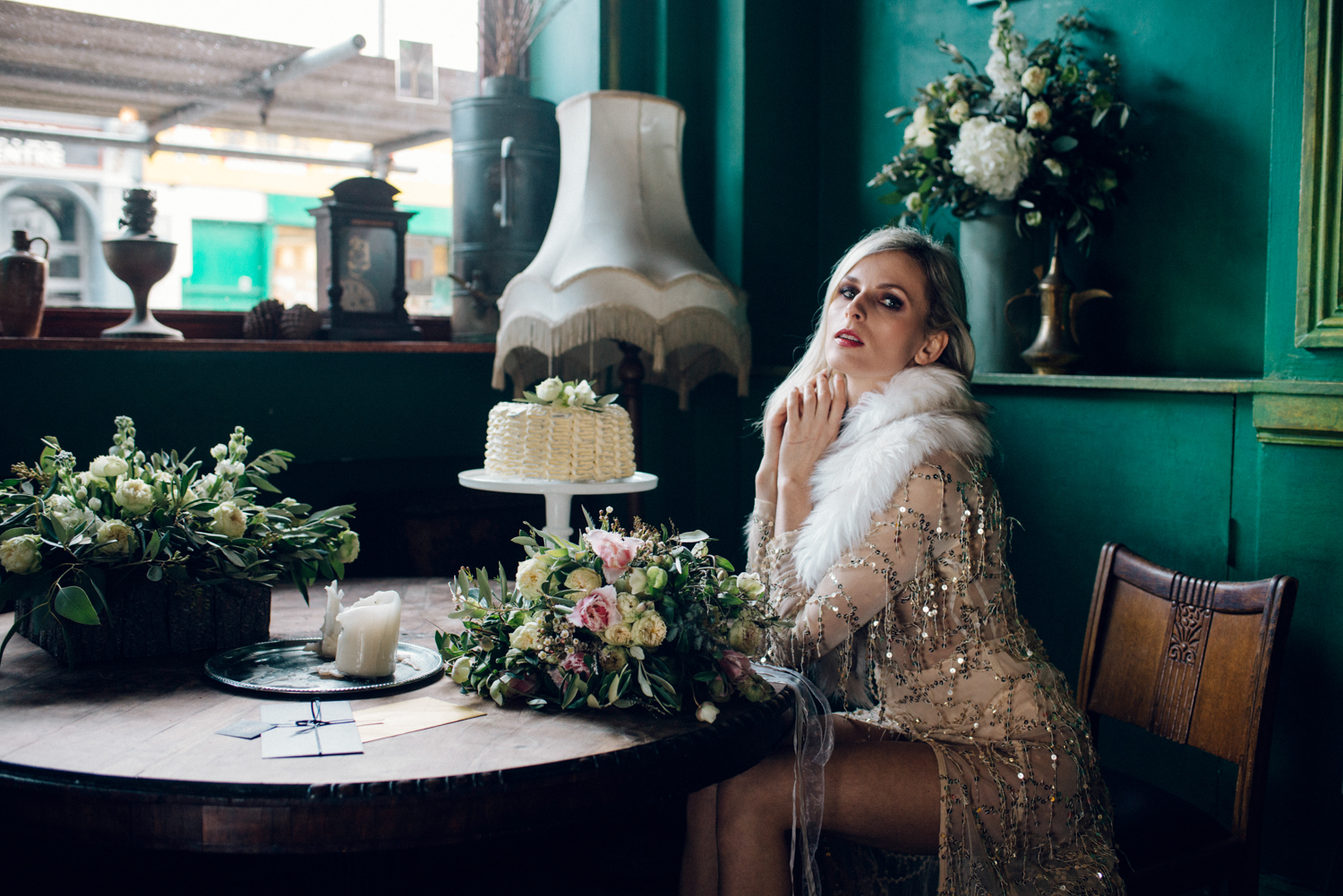 Margo Ryszczuk Photography - Its all about the glitter, sparkle and shine art deco inspired wedding shoot 33
