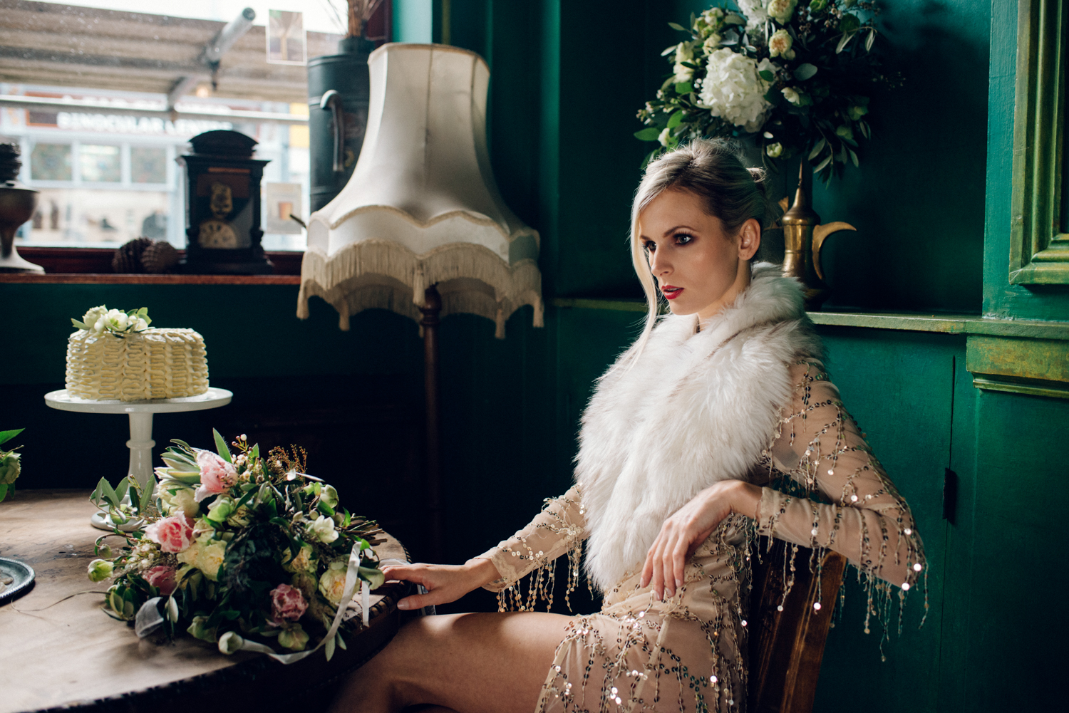 Margo Ryszczuk Photography - Its all about the glitter, sparkle and shine art deco inspired wedding shoot 74y53675467342