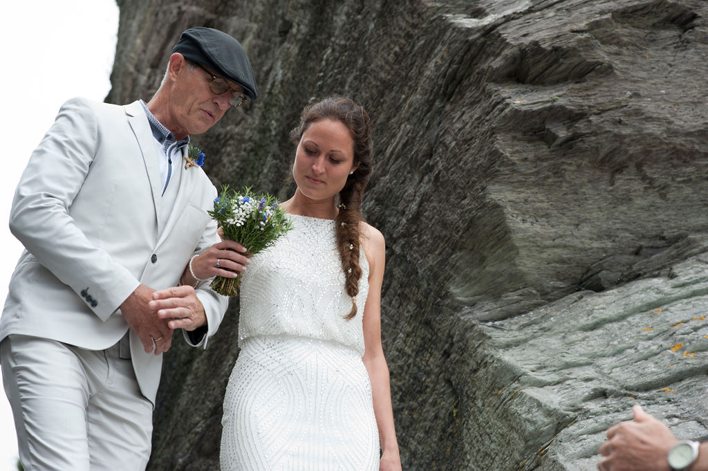 Nathan Walker Photography - Beach Wedding - Cornwall Wedding - Alternative wedding 12