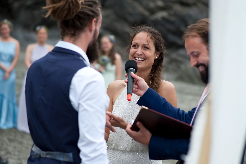 Nathan Walker Photography - Beach Wedding - Cornwall Wedding - Alternative wedding 16