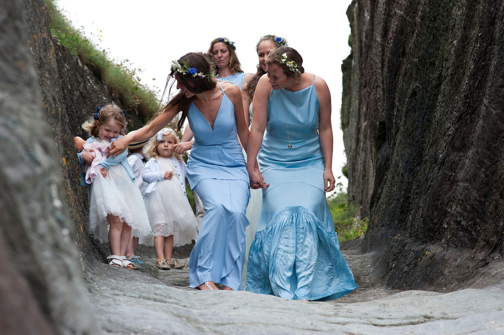 Nathan Walker Photography - Beach Wedding - Cornwall Wedding - Alternative wedding 9