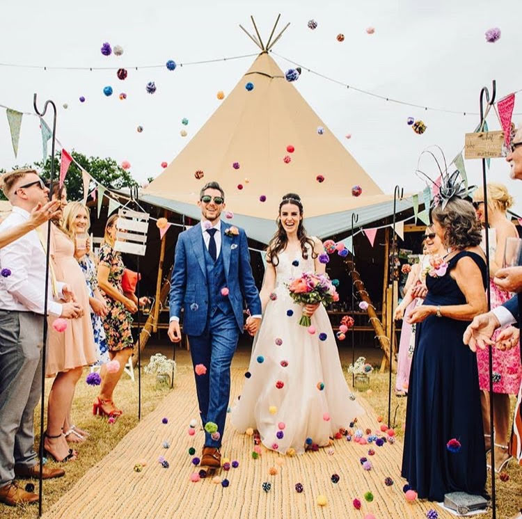Leicester wedding fair - alternative wedding fair - the unconventional wedding festival - peak tipis photo- tipi wedding