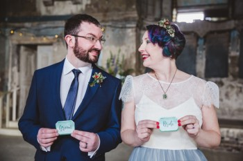 Cristina Rossi Photography - alternative vow renewal - alternative wedding - Kat and Jeremy vow renewal 1