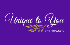 Unique to you celebrant - alternative wedding - alternative wedding ceremony - logo