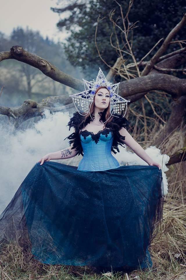 scarlet-tayla, alternative wedding dress, designer, unusual wedding dress