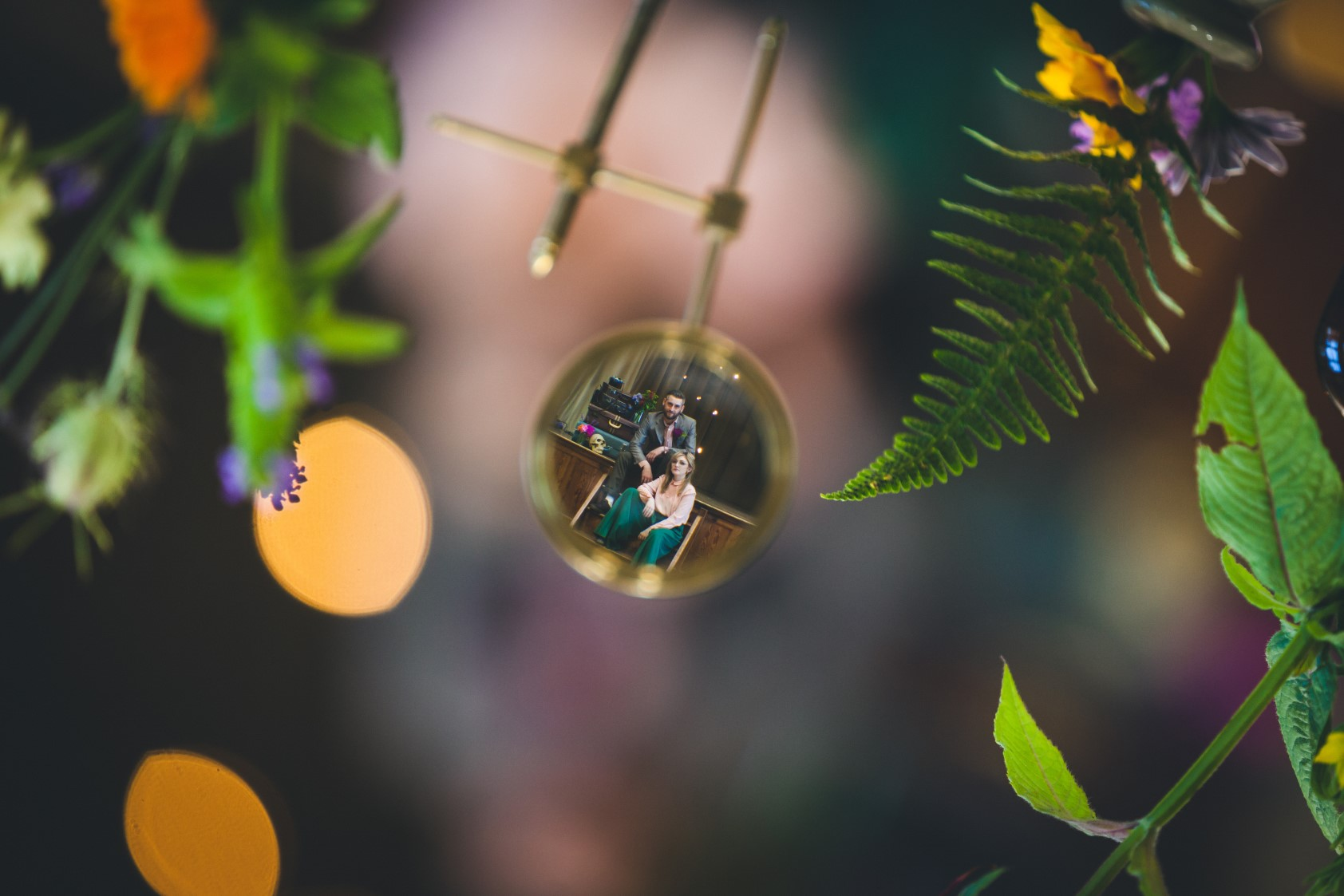 Curious Magpie- Science Geeks Wedding-Leaves