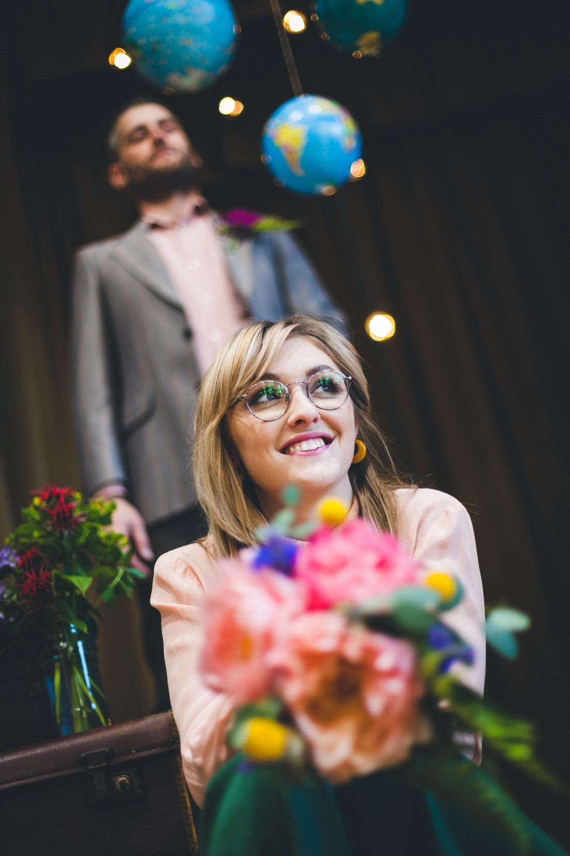 Curious Magpie-Science Geeks Wedding-Smiles
