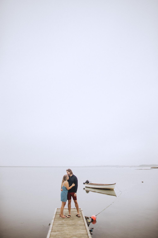 Fox&Bear- Engagement Shoot-Dock
