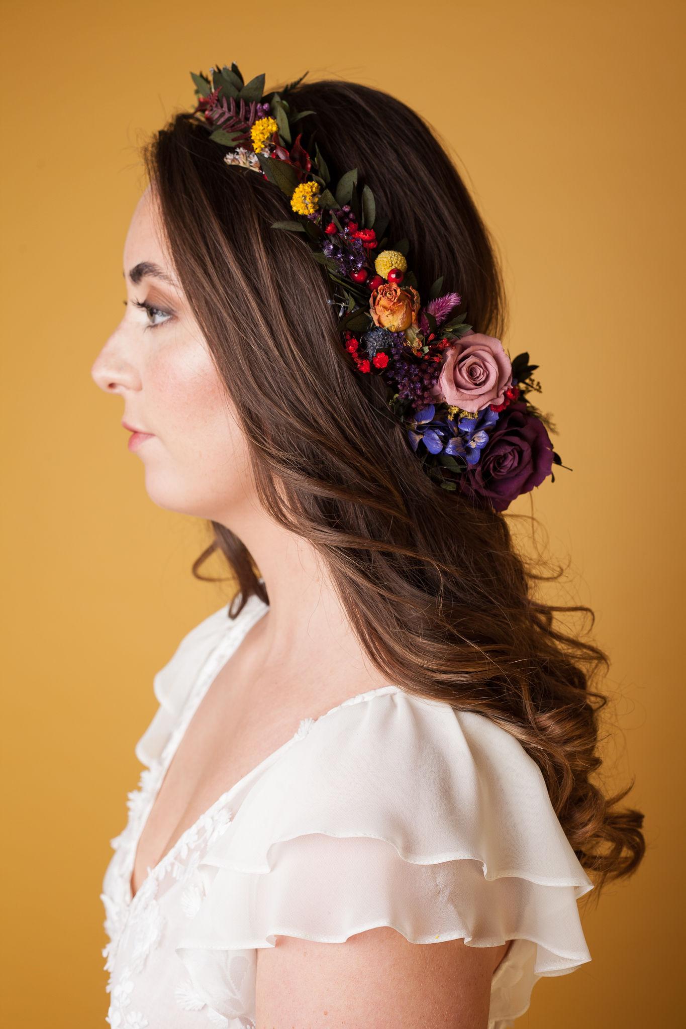 Abundance crystals- colourful wedding- crown 2
