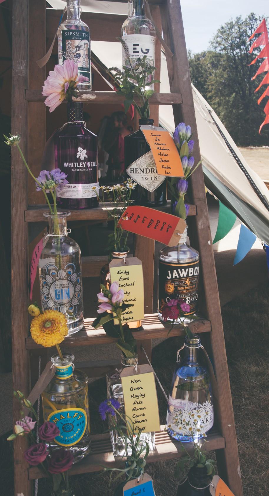 Festival Wedding- Joelle Poulos- Bottles