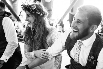 Festival Wedding- Joelle Poulos- Couple