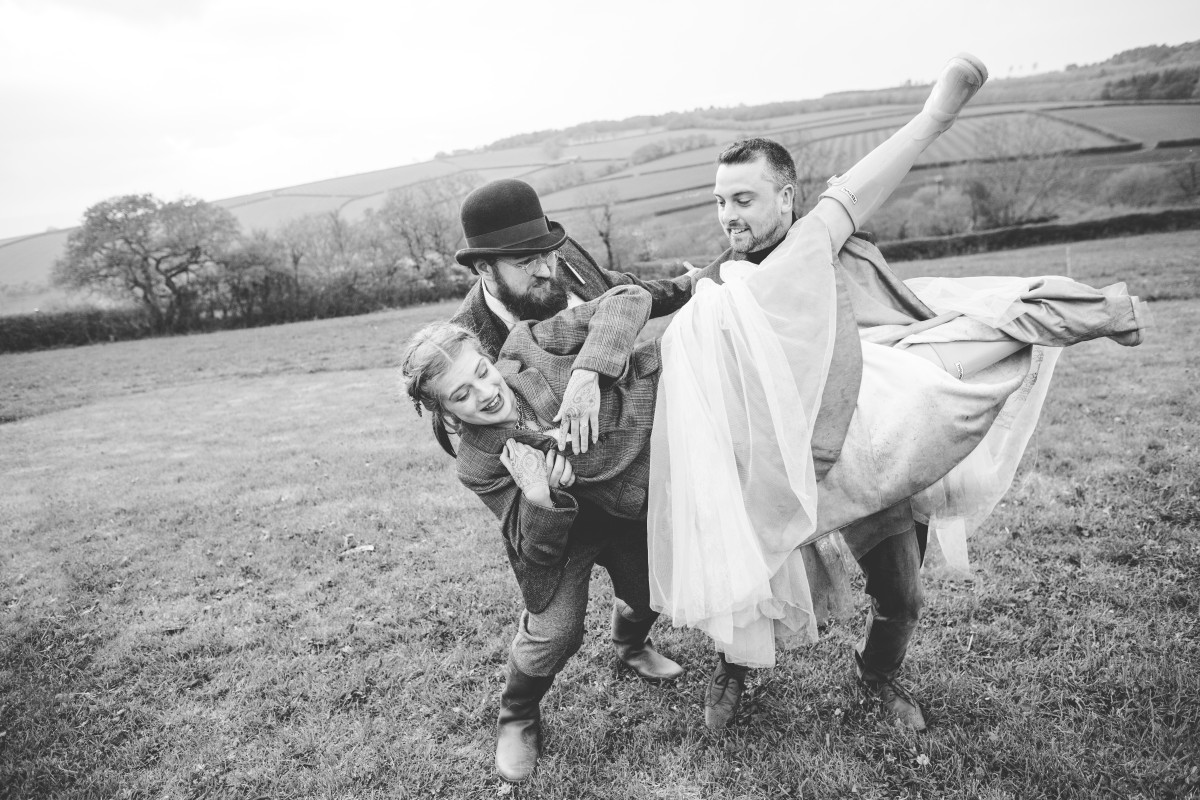 Ragdoll Photography-Tipi Wedding- Fun