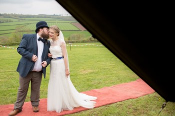 Ragdoll Photography-Tipi Wedding- red carpet