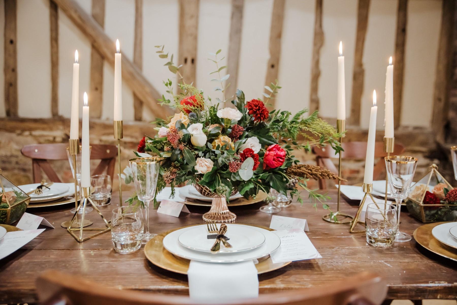 Roshni Photography- Barn Wedding Shoot- Flowers