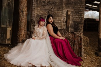 Roshni Photography- Barn Wedding Shoot- Hay