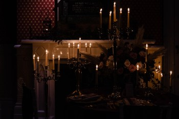 A gothic wedding - national justice museum wedding - alternative wedding - Vicki Clayson Photography (19)