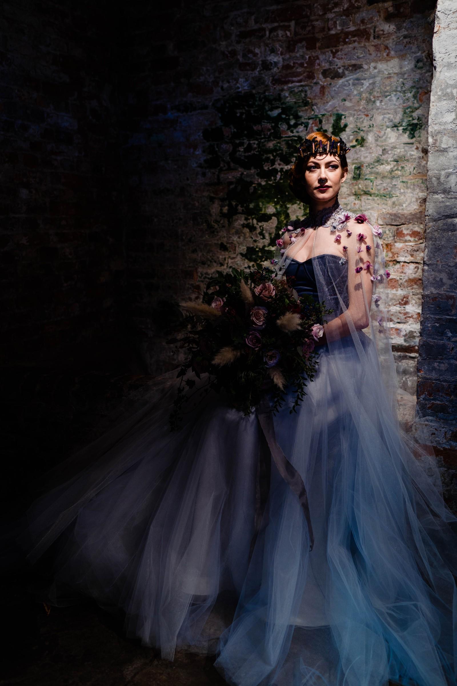 A gothic wedding - national justice museum wedding - alternative wedding - Vicki Clayson Photography 2 (2)