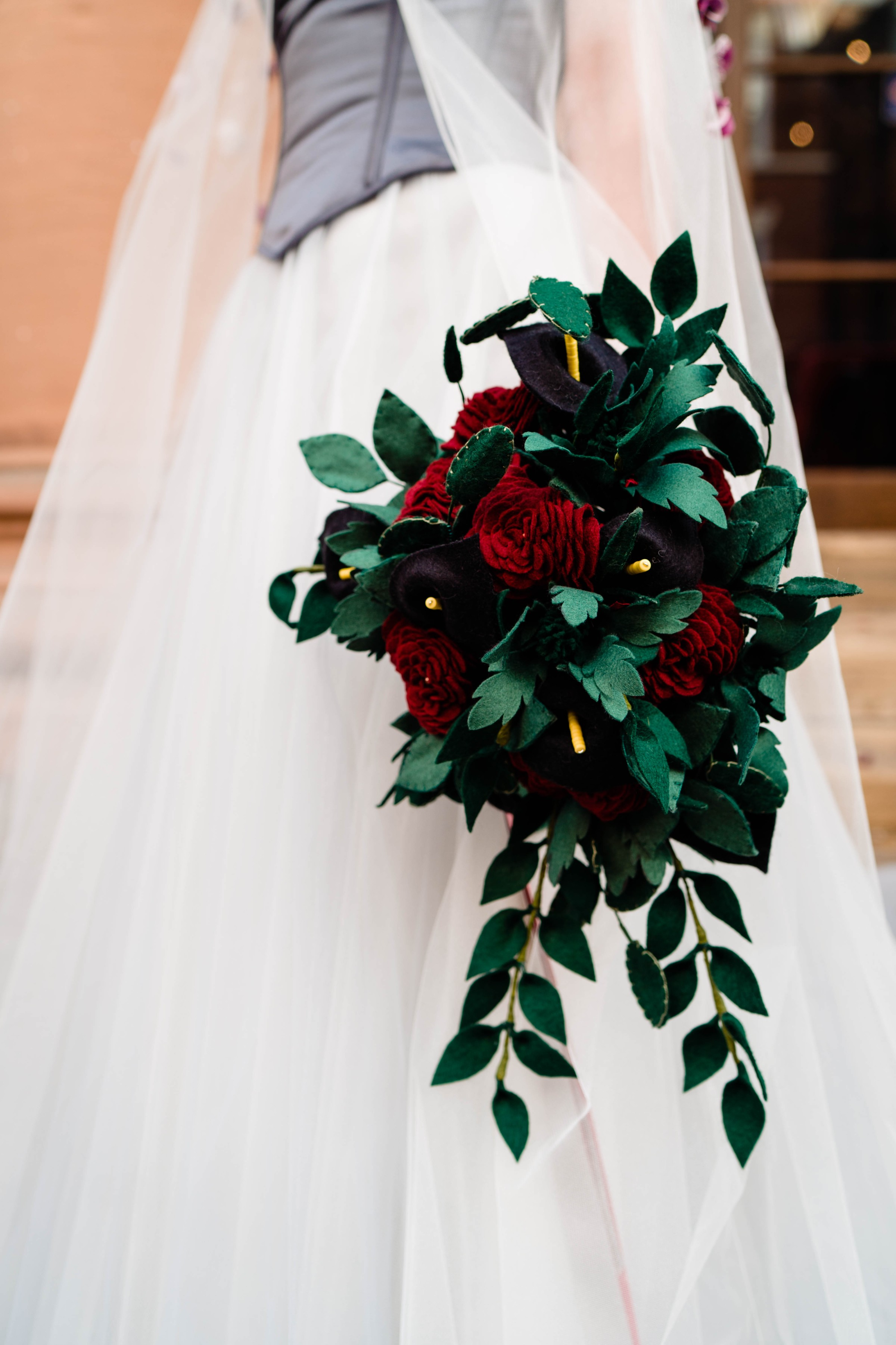 A gothic wedding - national justice museum wedding - alternative wedding - Vicki Clayson Photography (32)