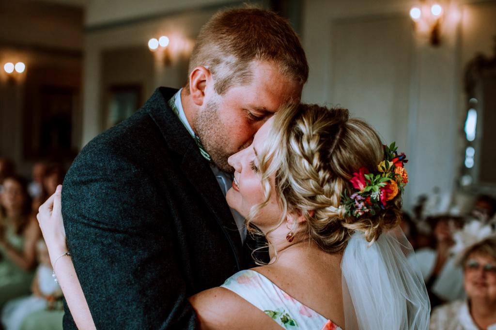 Alpaca Yurt Wedding- Ceremony