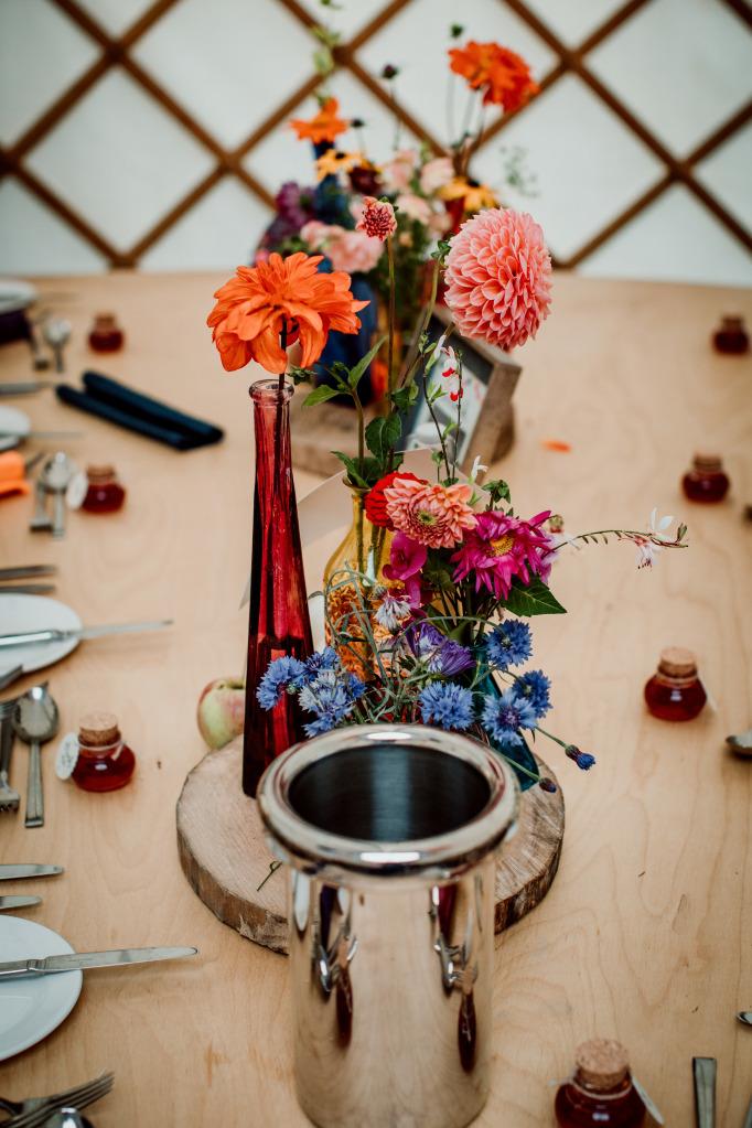 Alpaca Yurt Wedding- Tables