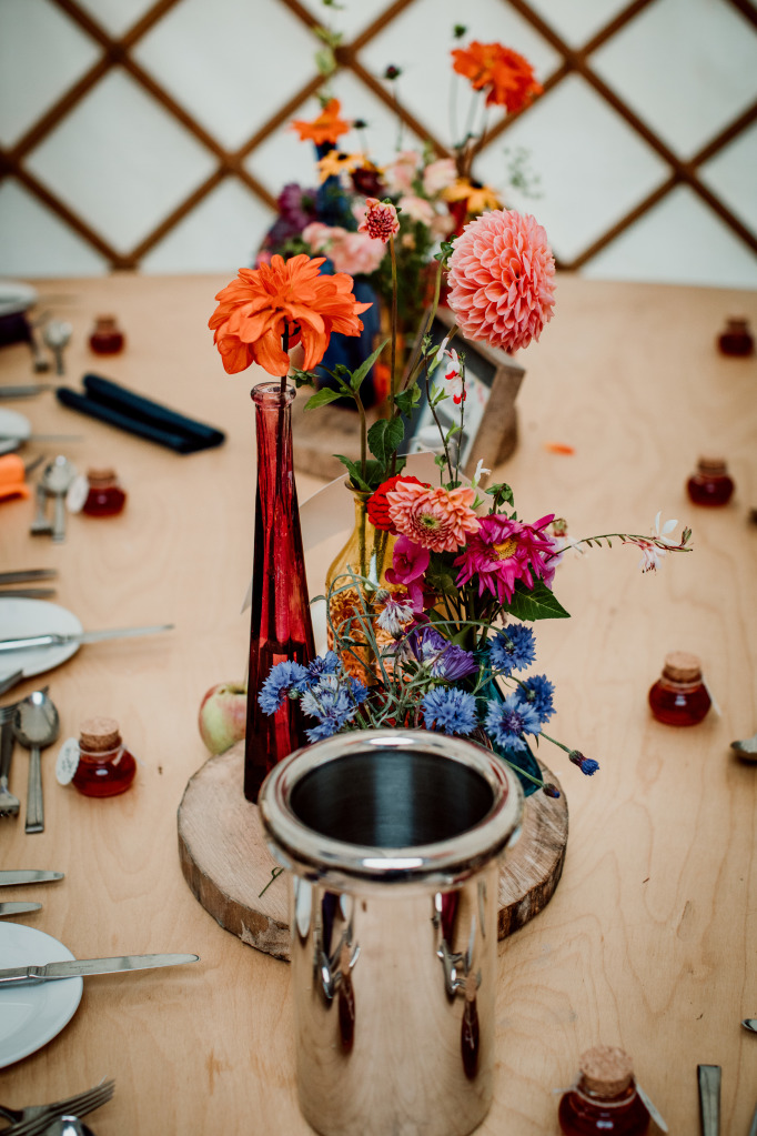 Alpaca Yurt Wedding- Tables