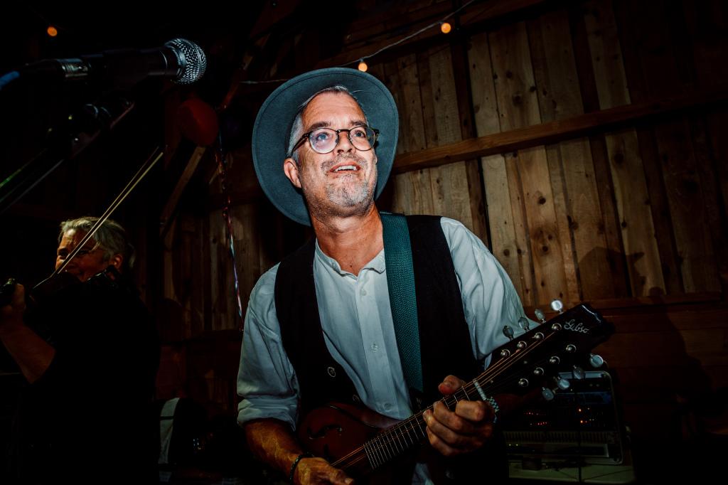 Alpaca Yurt Wedding- Musician