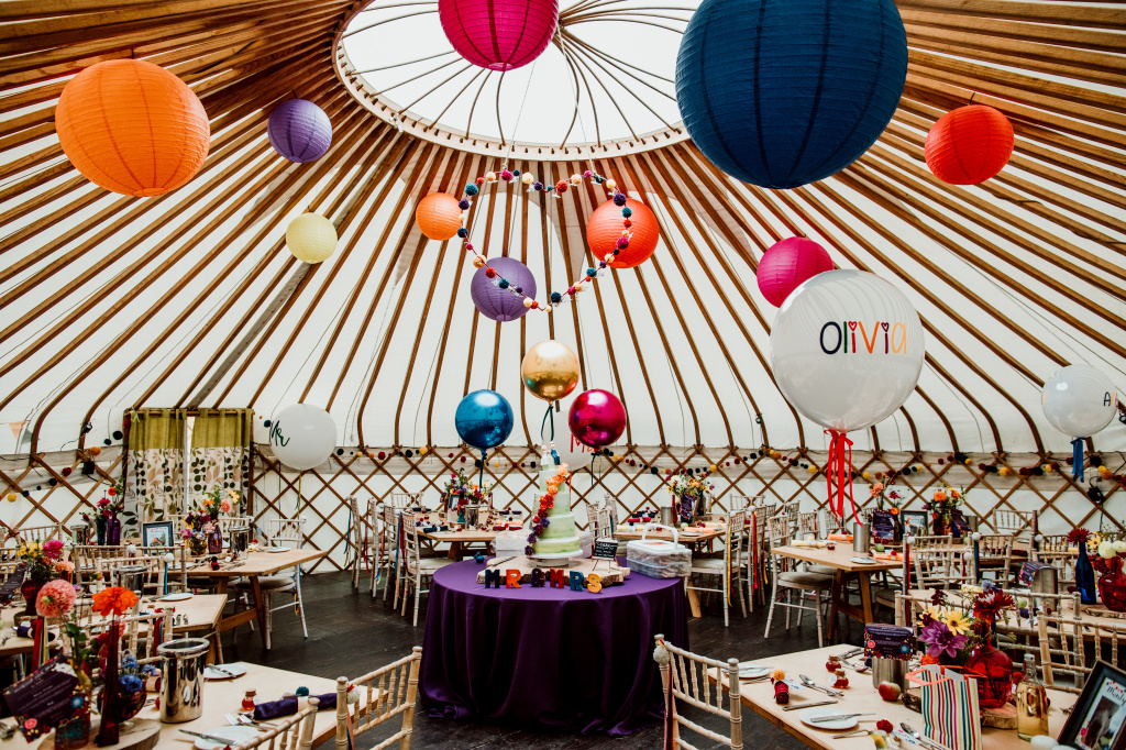 Alpaca Yurt Wedding- Yurt