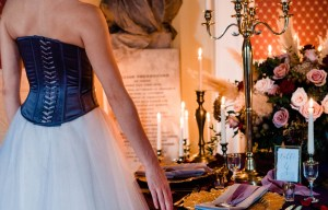 A gothic wedding - national justice museum wedding - alternative wedding - Vicki Clayson Photography (26)