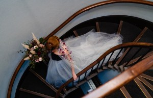 A gothic wedding - national justice museum wedding - alternative wedding - Vicki Clayson Photography (36)