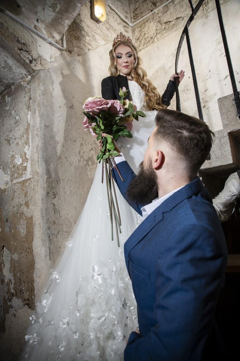 Magpie Weddings-Fairytale Weddings-Stairs