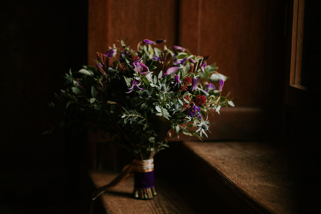 Nurstead Court Wedding- Boquet2