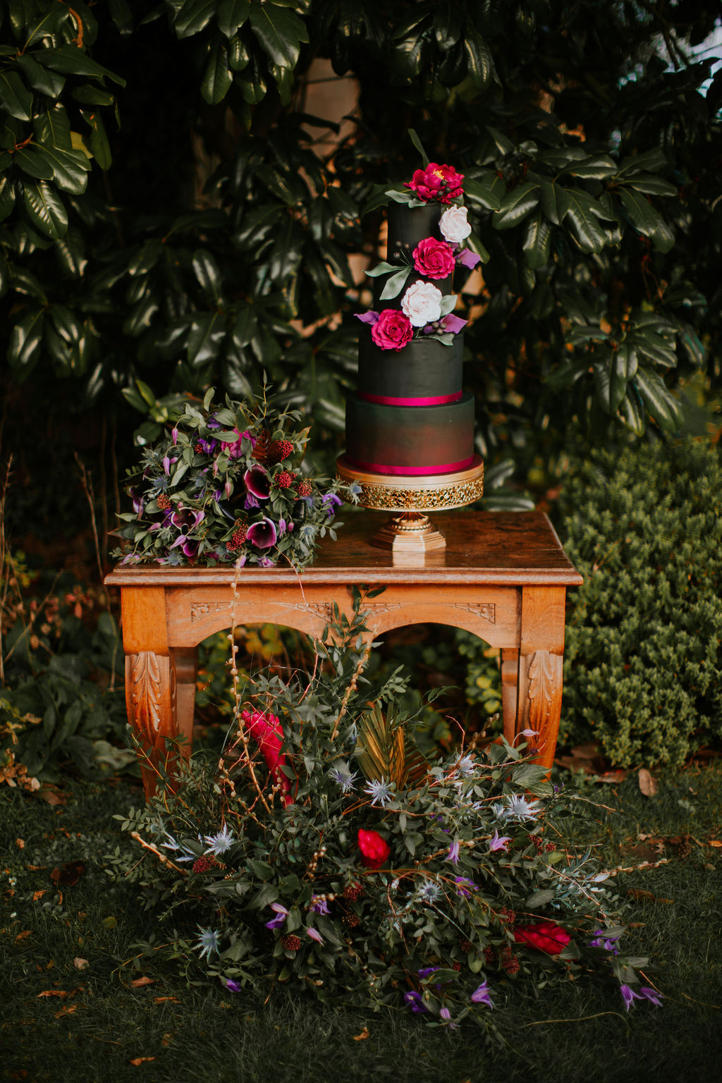Nurstead Court Wedding- Display