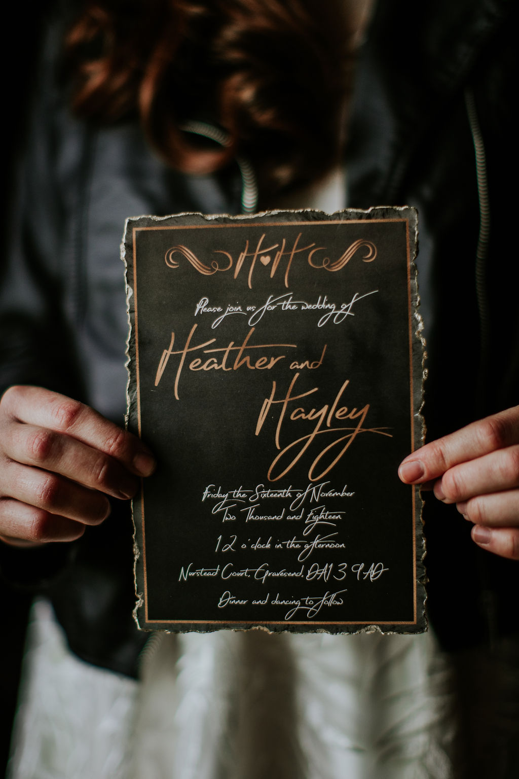 Nurstead Court Wedding- Invite