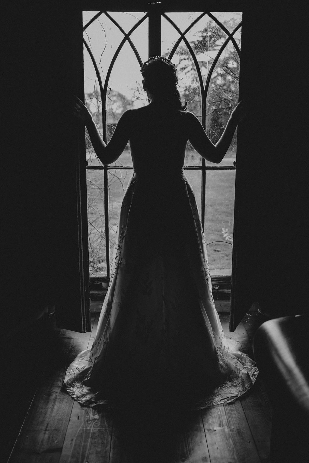 Nurstead Court Wedding- Silhouette2