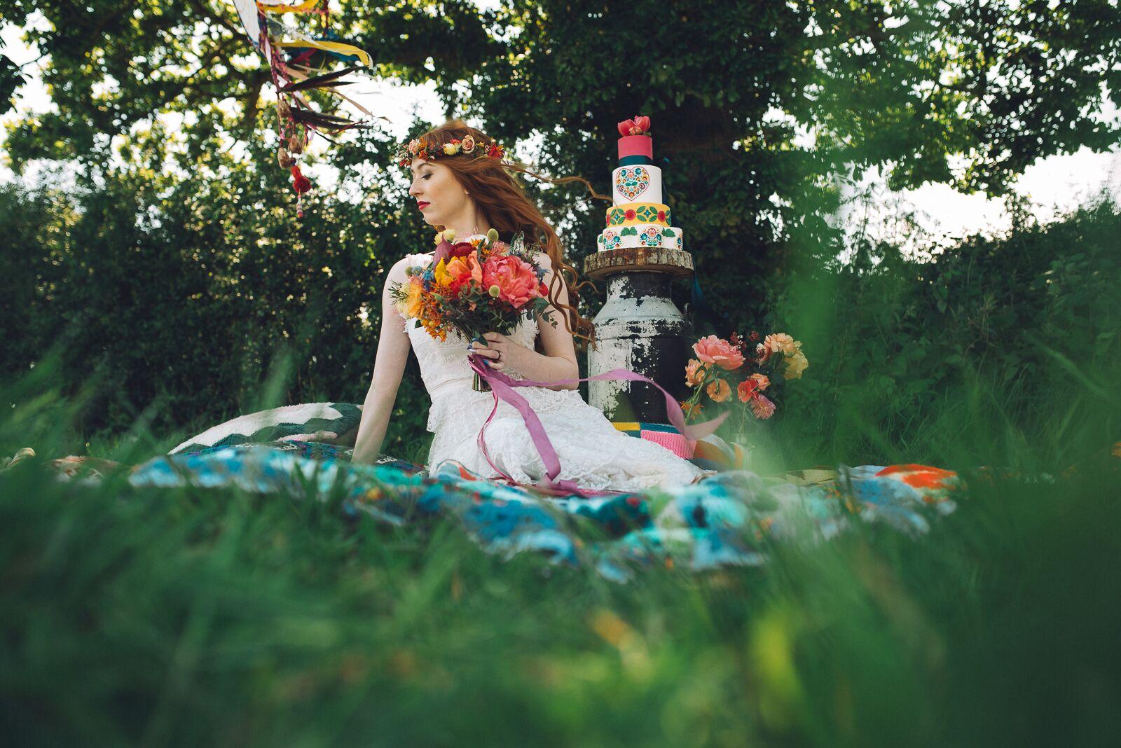 Pea-Green Boat events company - alternative wedding planner - unconventional wedding - boho wedding - colourful wedding