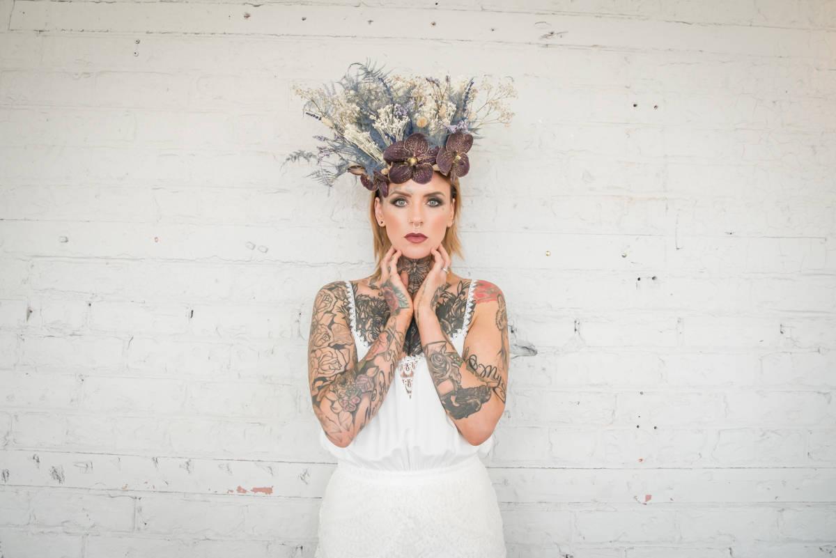 Jenny Madden Photography- Individual Wedding- Unconventional Wedding- Unique Wedding- Quirky Wedding- Alternative Wedding- Tattoed Bride