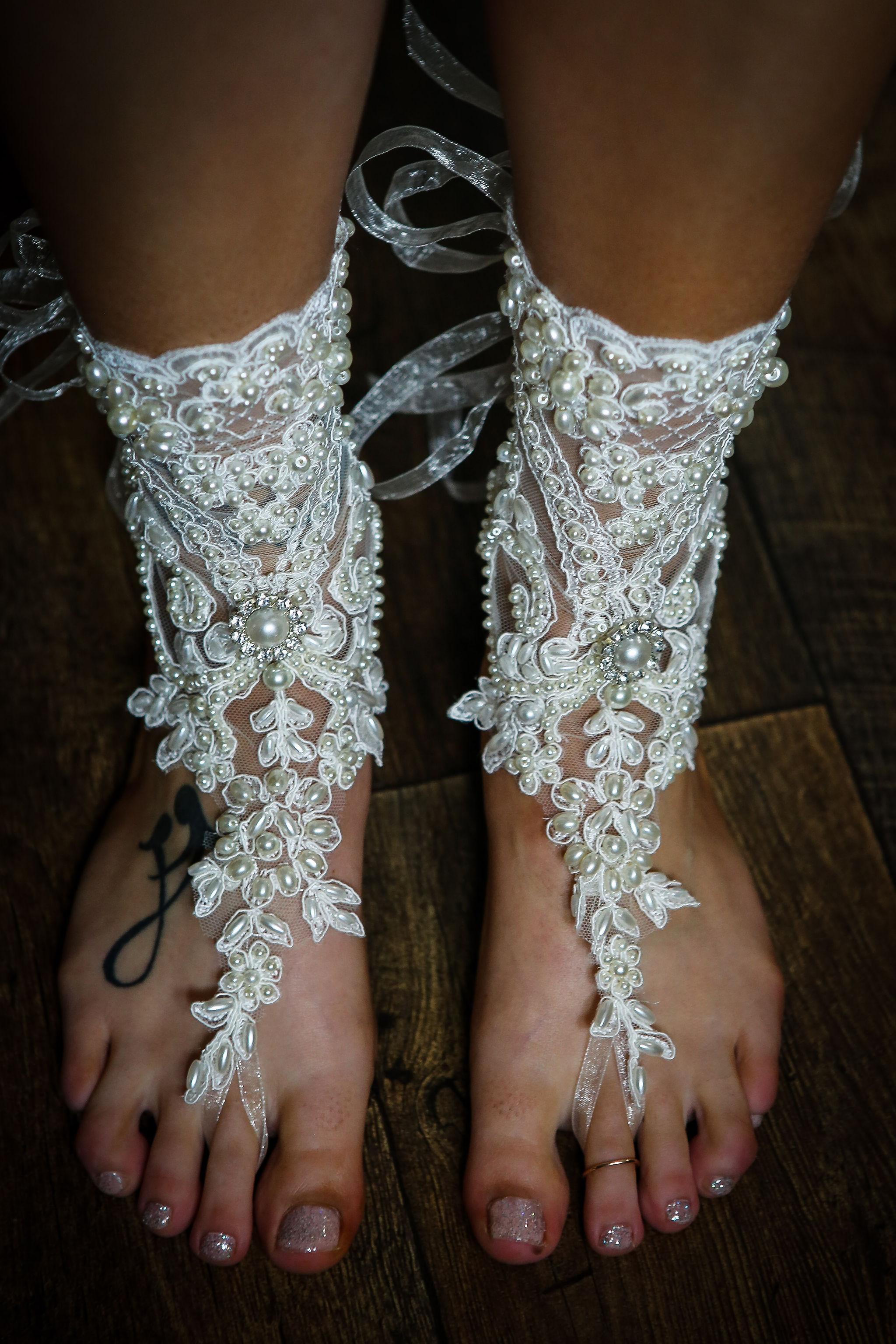 Harriet&Rhys Wedding - lace wedding footwear - wedding accessories