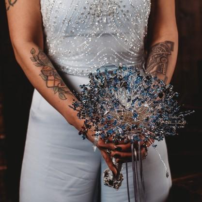 Galaxy Wedding- CRZyBest- Alternative Wedding Boquet- Alternative Wedding Accessories-Unconventional Wedding- Unusual Wedding Dresses- Alternative Wedding Cake