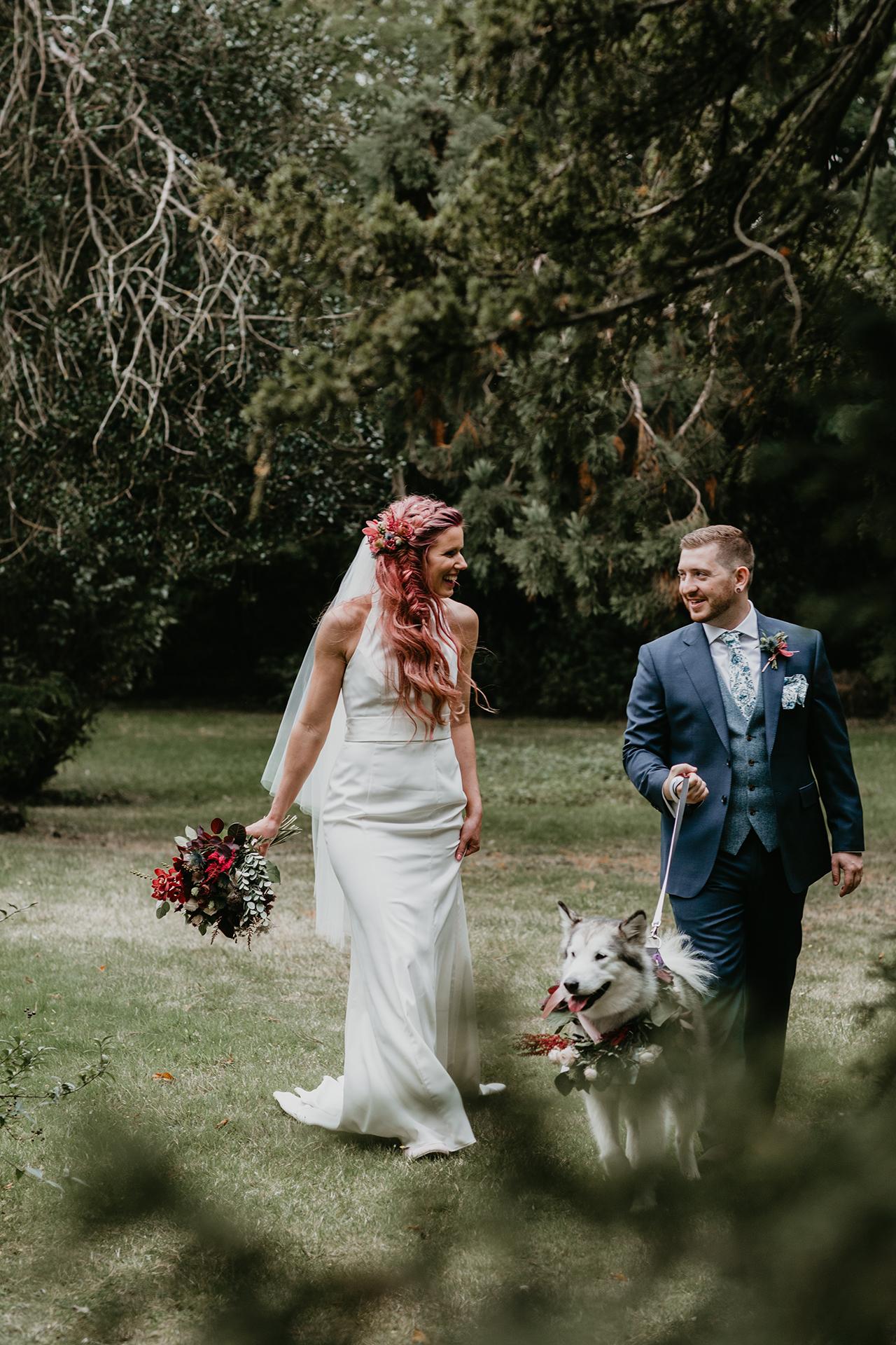 Fun Autumnal Wedding- Nicki Shea Photography-Autumn Wedding- Alternative Bride- Unconventional Wedding- Unique Wedding Ideas