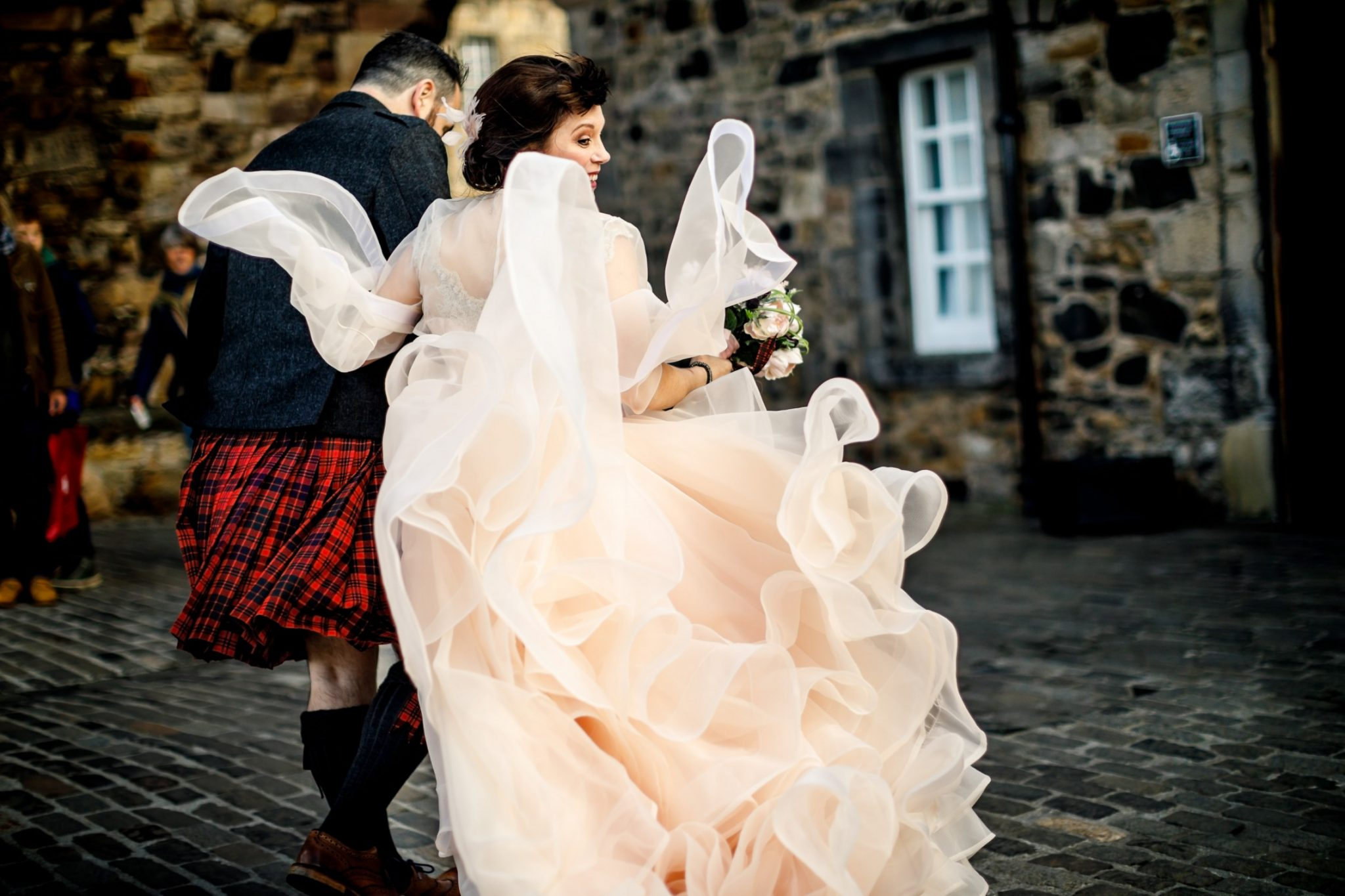 Unique Wedding Venues- Unconventional Wedding- Lina & Tom Photography- unique wedding dress
