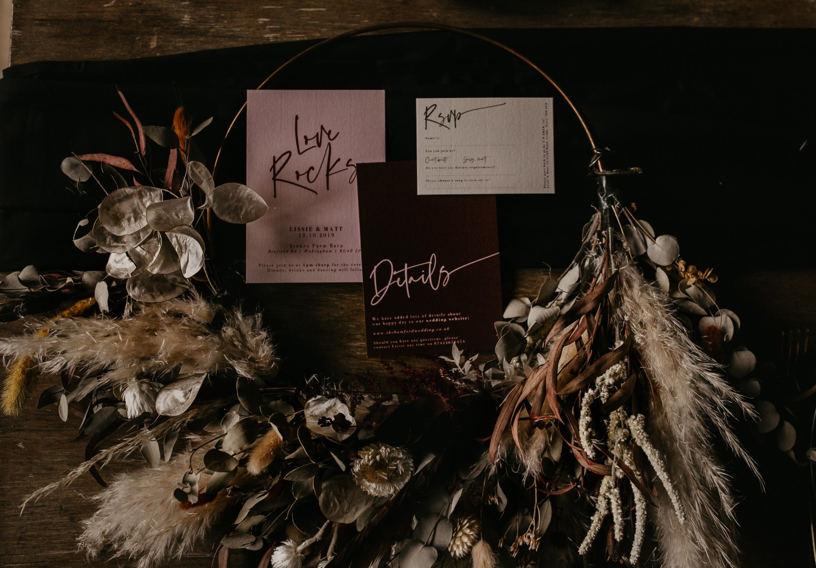Modern barn wedding- jessica lily photography- unconventional wedding- unique wedding invitations