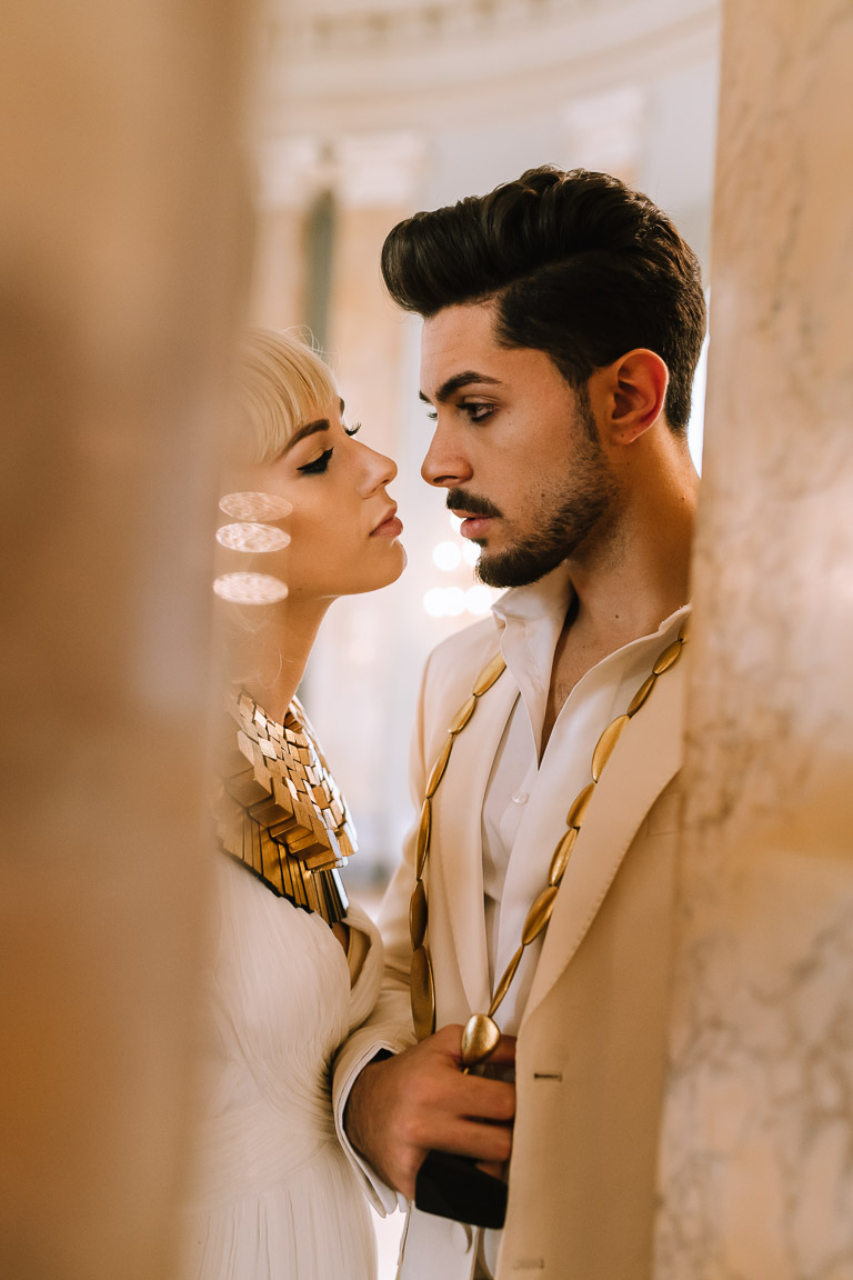 artistic wedding photography- egyptian wedding styling