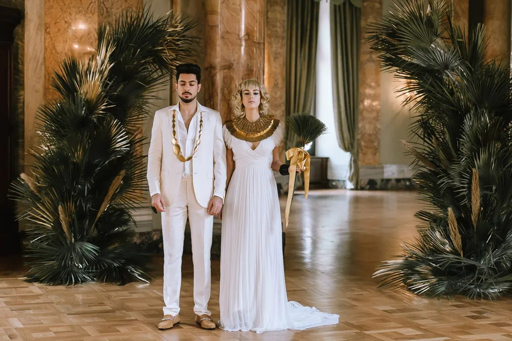 edding Inspiration- Marcella Cistola- Egyptian Wedding- unique bridalwear- unique groomswear- quirky wedding dress- quirky wedding decor