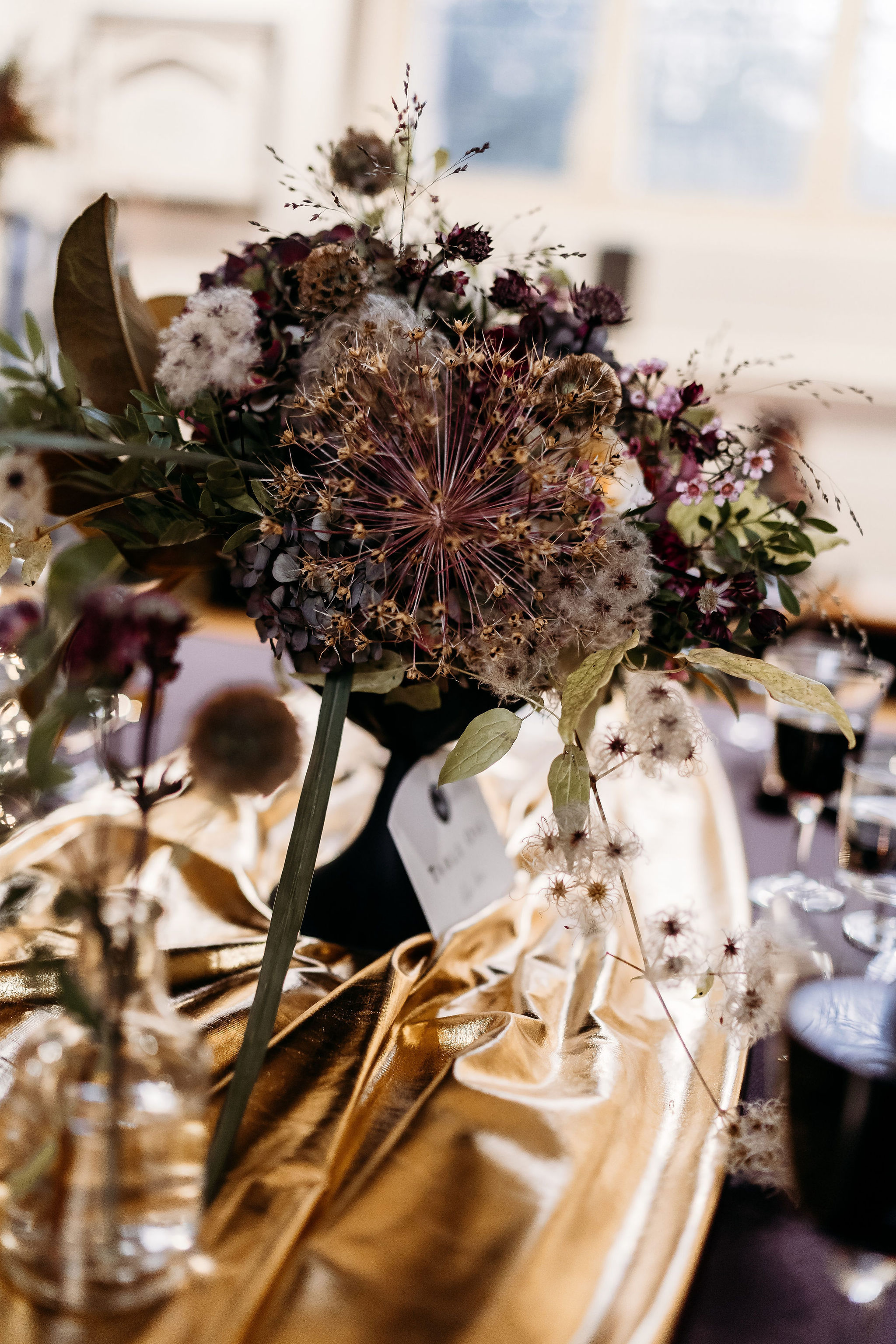 Leesha Williams Photography- Unconventional Wedding- Celestial Wedding Inspiration- alternative wedding- alternative wedding flowers