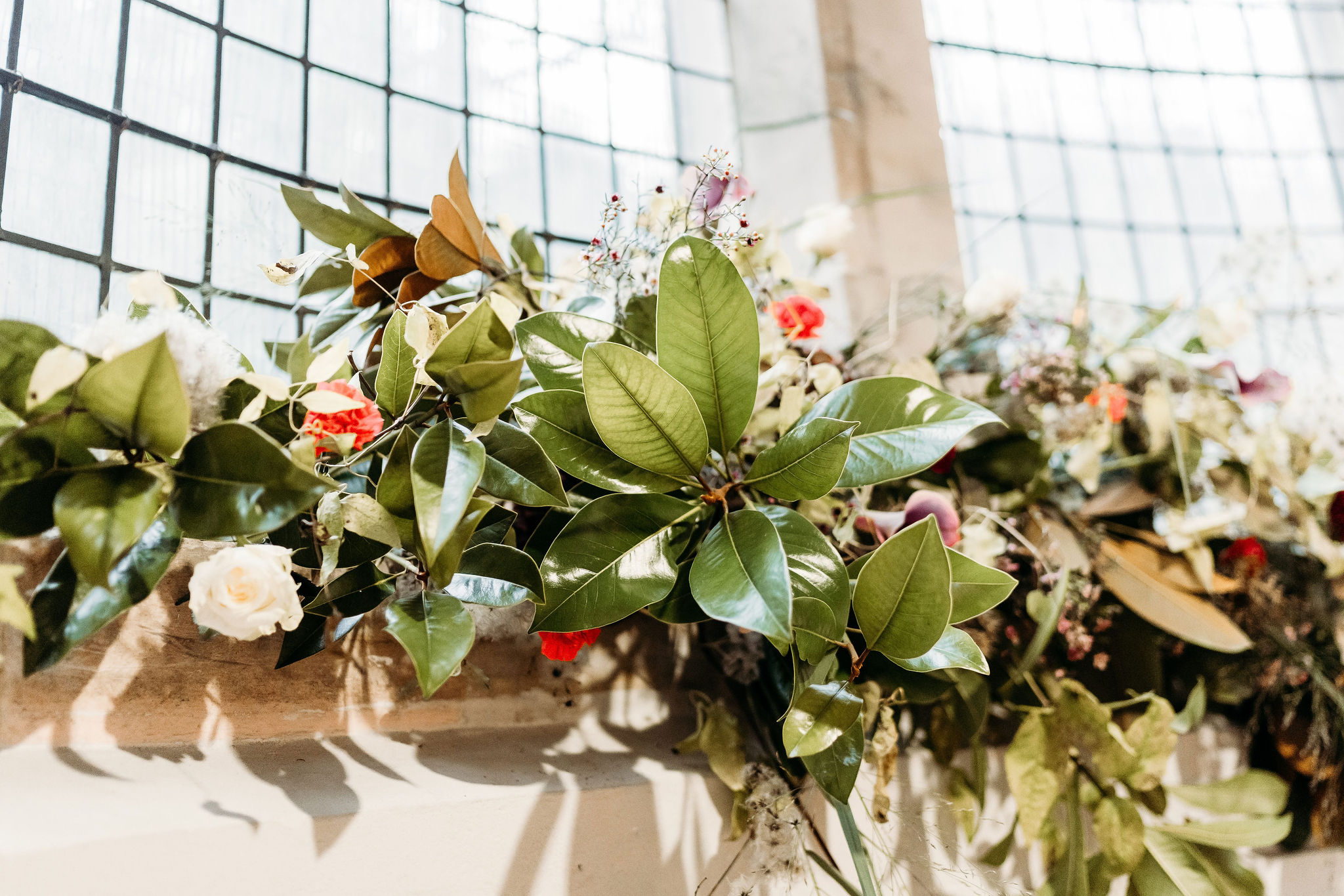 Leesha Williams Photography- Unconventional Wedding- Celestial Wedding Inspiration- alternative wedding- unique wedding flowers- wedding foliage